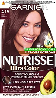 Garnier Nutrisse Ultra Colour Permanent Hair Dye 4.15 Iced