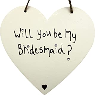 MadeAt94 Will You Be My Bridesmaid Gift From Bride Heart