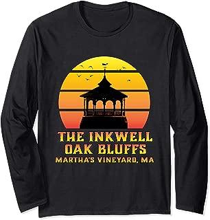 Sunset Gazebo Inkwell Beach Oak Bluffs Martha's Vineyard MA Long Sleeve T-Shirt
