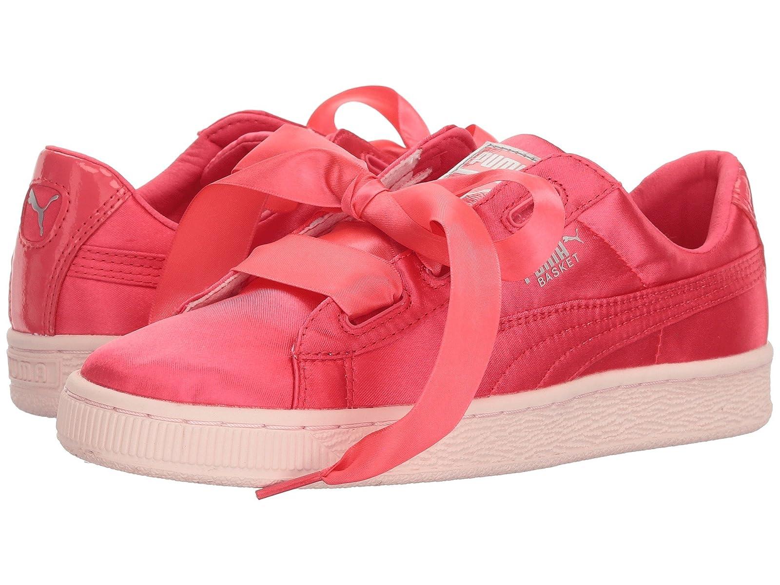 Puma Kids Basket Heart Tween Jr (Big Kid)Atmospheric grades have affordable shoes