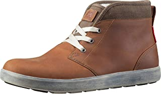 Helly-Hansen Men's Gerton Cold Weather Sneaker, 714 Dark Camel/Walnut/Natural, 7