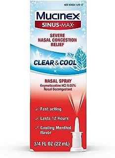Mucinex Sinus-Max Full Force Nasal Decongestant Spray, 0.75oz