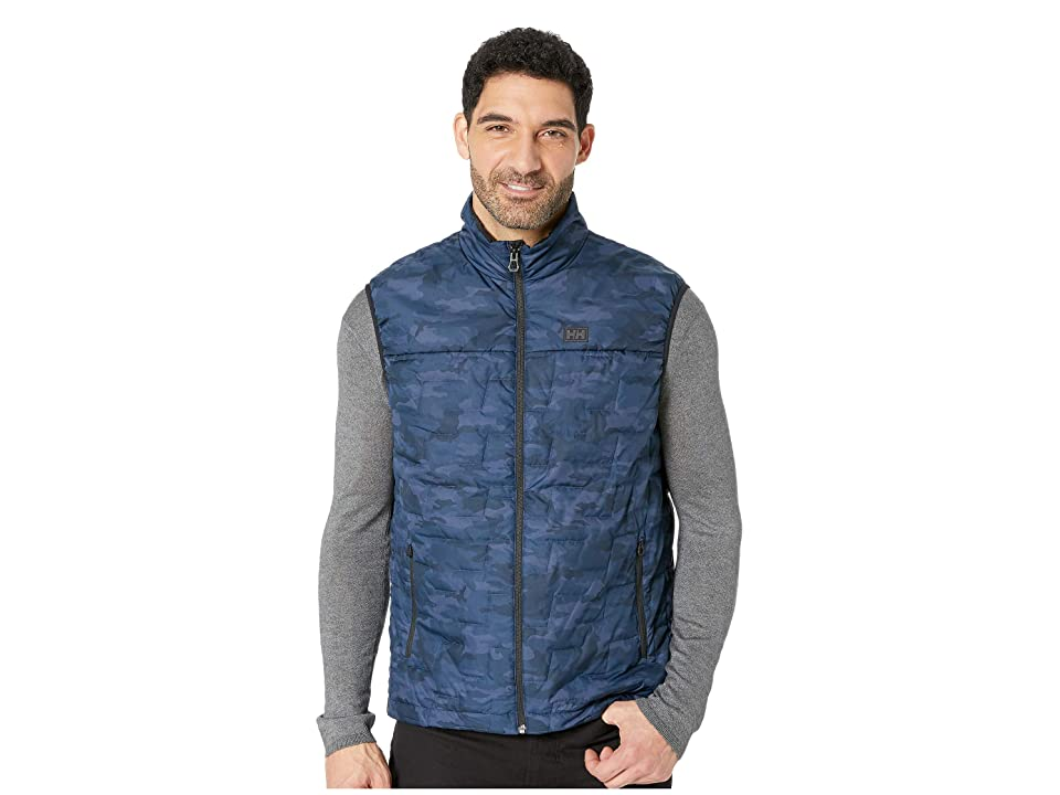 Helly Hansen Lifaloft Insulator Vest (Graphite Blue Camo) Boy