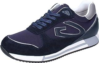 GUARDIANI Sneaker Uomo Tessuto Blu