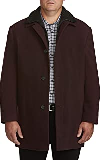 Calvin Klein Big and Tall Solid Overcoat