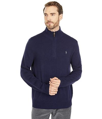 Polo Ralph Lauren Wool-Cashmere Sweater (Hunter Navy) Men