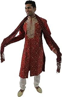 Mens Sherwani Set Indian Wedding Party Wear
