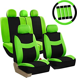 Pleasant Amazon Com Green Universal Fit Seat Covers Automotive Cjindustries Chair Design For Home Cjindustriesco