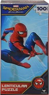 United Pacific Designs Spider-Man Lenticular 100-Piece Jigsaw Puzzle Standard