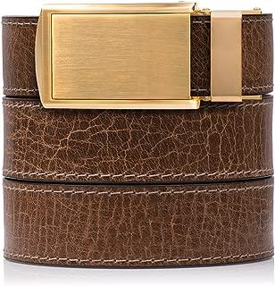 SlideBelts Rustic Full Grain Leather Belt - Custom Fit