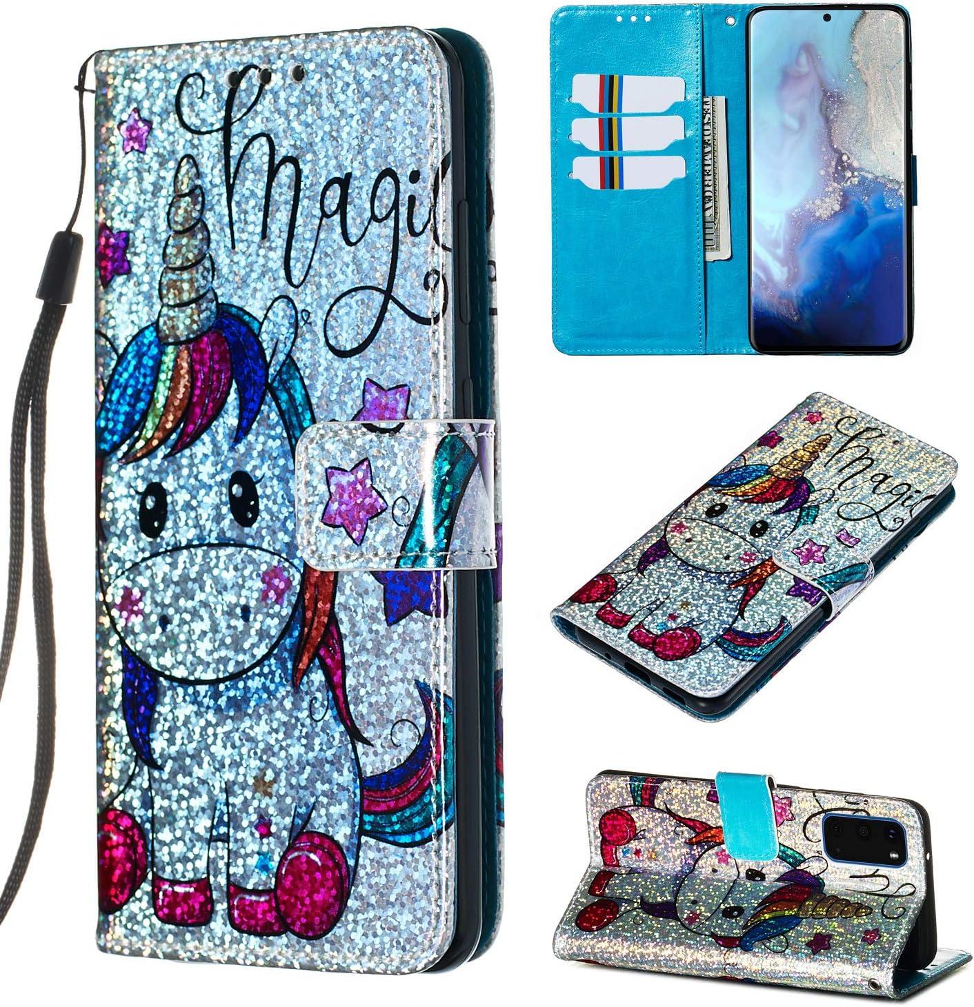Cfrau Sequins specialty shop Wallet Case for Samsung 6.7
