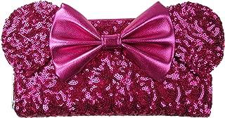 x Disney Minnie Mouse Pink Sequin Wallet
