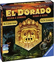 Ravensburger The Quest for El Dorado: Heroes & Hexes Adventure Family Game for Ages 10 & Up - Expansion to 2017 Spiel De Jahres Finalist