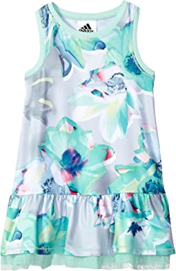 adidas Kids Printed Sport Dress (Little Kids)