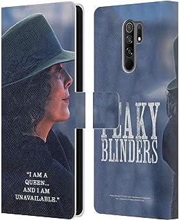 Head Case Designs Licenciado Oficialmente Peaky Blinders Polly Gris Personajes de la Temporada 5 Carcasa de Cuero Tipo Lib...