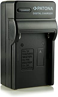 Patona - Cargador para cámaras Sony Cybershot DSC-F707 DSC-F717 DSC-F828 DSC-S30 DSC-S50 DSC-S70 DSC-S75 DSC-S85 DSLR-A100 (?100) MVC-CD200 MVC-CD250 MVC-CD300 MVC-CD350 MVC-CD400 MVC-CD500 y otras (equivalente a NP-FM50 NP-FM55H y NP-QM51)