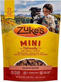 Zuke`s Mini Naturals Training Dog Treats and Hemp Naturals Calming Dog Chews