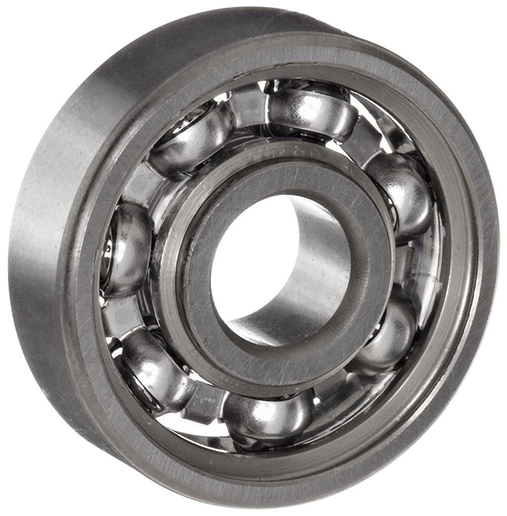 NSK 627 Deep Groove Ball Bearing, Single Row, Open, Pressed Steel Cage, Normal Clearance, Metric, 7mm Bore, 22mm OD, 7mm Width, 30000rpm Maximum Rotational Speed, 1370N Static Load Capacity, 3300N Dynamic Load Capacity