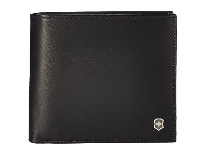 Victorinox Altius Edge Pythagoras Deluxe Bifold Organizer w/ RFID (Black) Bi-fold Wallet