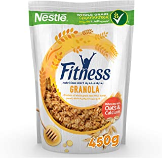 Nestl© Fitness Granola Honey Cereal Bag - 450 gm Brown