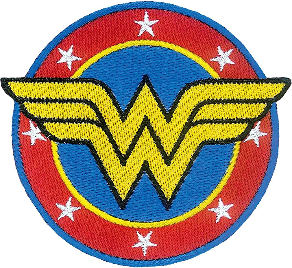 Ata-Boy DC Jacksonville Mall Comics Wonder Woman Logo Columbus Mall Licensed Officially P Patch