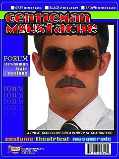 Forum Novelties Men's Human Hair Gentleman Mustache