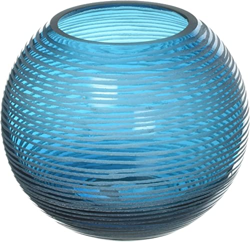 popular Cyan online Design outlet sale 04360 Round Libra Vase, Small online sale
