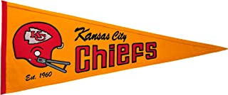 Winning Streak NFL Kansas City Chiefs Throwback Pennant