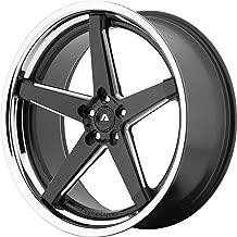 Adventus AV2 22x10.5 5x120 38mm Black/Milled Wheel Rim 22