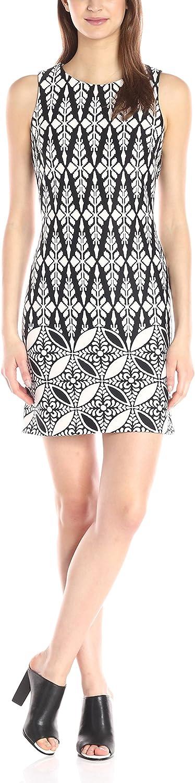 Taylor Dresses Women's Diamond Pattern Scuba