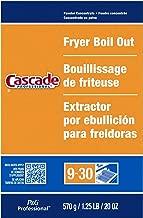 Cascade Professional Fryer Boil Out, 20 Ounce - 9 per case.