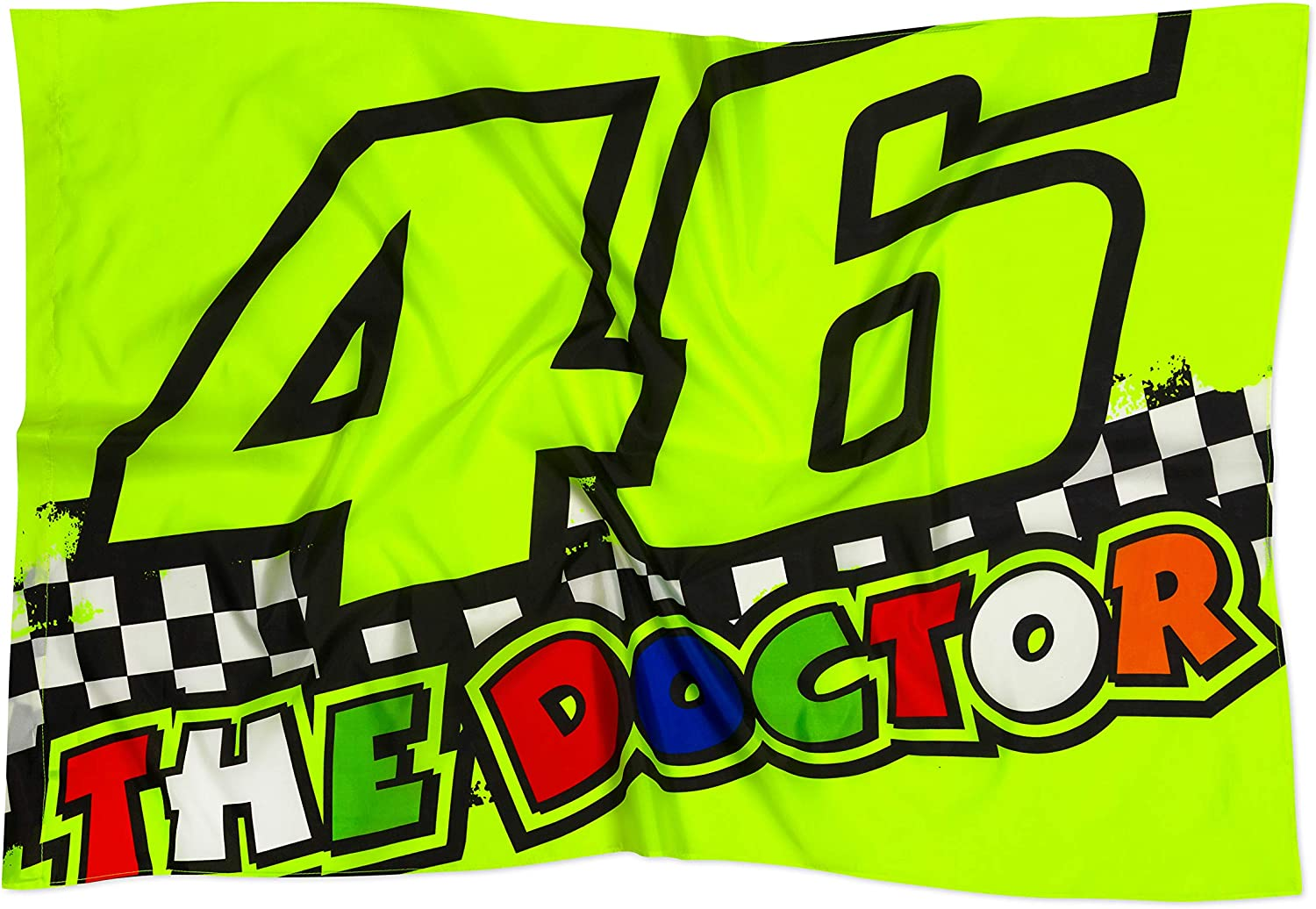 Valentino Rossi Flag VR46 MotoGP 2020 The Oakland Mall Doctor Race Phoenix Mall Official