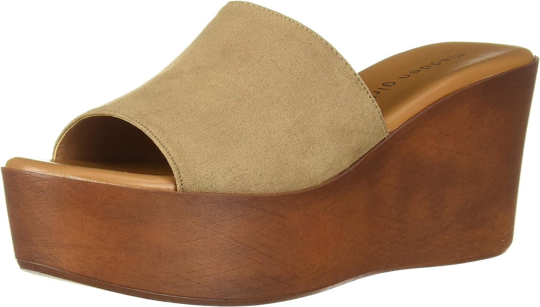 Madden girl Womens Karrmen Wedge Sandal