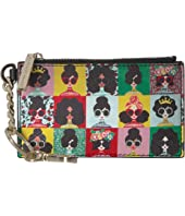 Alice + Olivia - Regina Stace Photobooth Zip Top Card Case