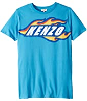 Kenzo Kids - Race Logo Tee (Big Kids)