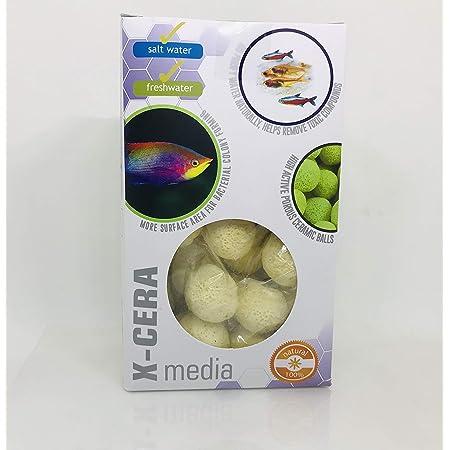 Aquatic Remedies AQUATIC REMEDIES ARK Aquatics X-Cera Natural Ceramic Balls Filter Media for Fresh and Salt Water