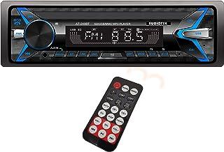Audiotek AT-249BT - Receptor estéreo de un solo DIN (200 W, Bluetooth/USB/FM/MP3, tecnología inalámbrica integrada para ha...