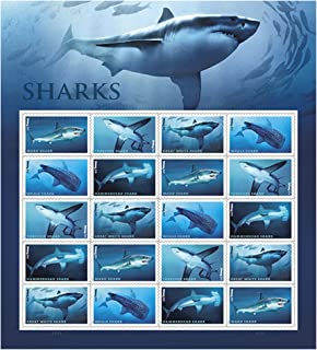 Best shark stamps us post office Reviews
