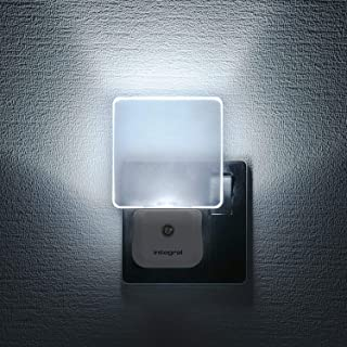 Integral LED Night Light, Plug in Walls with Dusk to Dawn Photocell Sensor, Auto Sensor Night Lighting for Hallways, Stair...