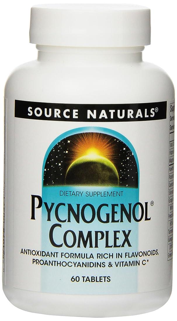SOURCE NATURALS Pycnogenol Complex Tablet, 60 Count ilio341167599224