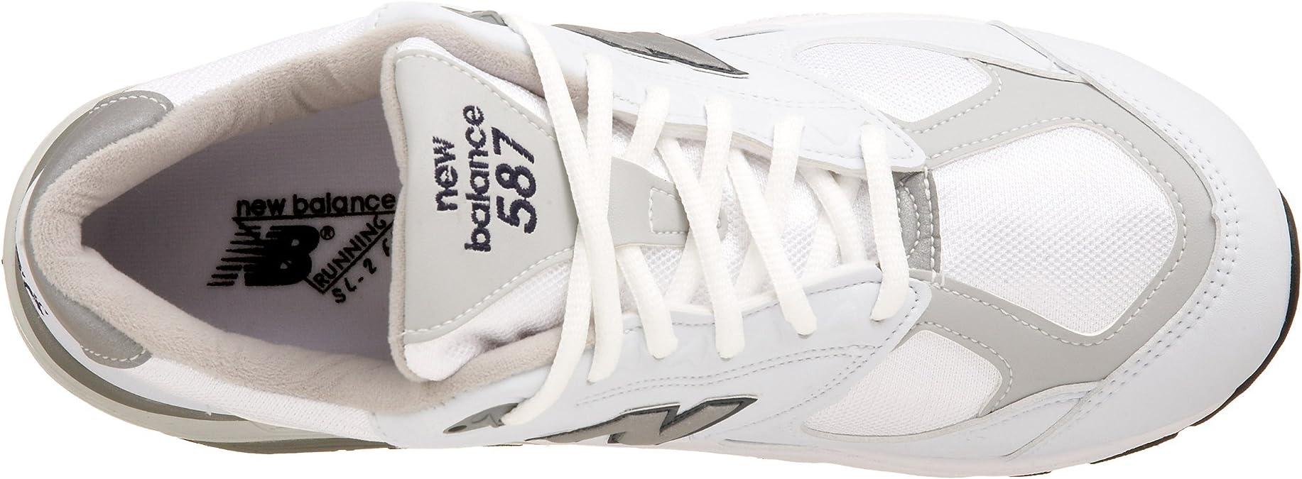 New Balance, Scarpe da ginnastica da donna a pianta larga, (White ...