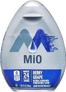 MiO Berry Grape Liquid Water Enhancer , Caffeinated, 1.62 fl oz Bottle