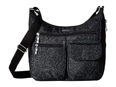 Baggallini Legacy Everywhere Bagg (Midnight Blossom) Cross Body Handbags