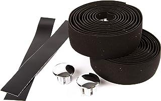 VeloChampion Cork Road Bike Premium Handlebar Tapes, Bicycle Handle Bar Tape, Cycling Handle Wraps - 2 Rolls per Set
