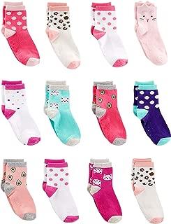 Toddler Girls' 12-Pack Sock Crew