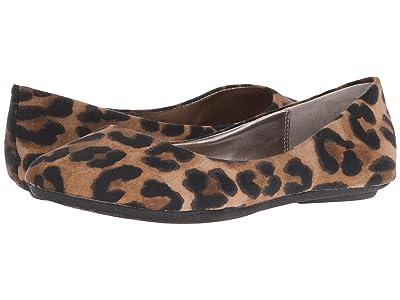 Steve Madden P-Heaven Flat (Leopard Fabric) Women