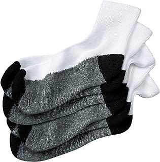 KingSize Men's Big & Tall 3-Pack 1/4 Length Cushioned Crew Socks
