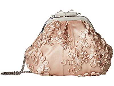 Adrianna Papell Sailor (Champagne) Clutch Handbags