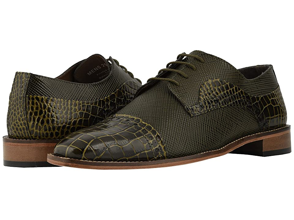Stacy Adams Rodrigo Cap Toe Oxford (Olive) Men
