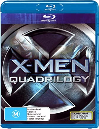 X-Men Quadrilogy (X-Men Origins: Wolverine / X-Men / X-Men 2 / X-Men: The Last Stand)